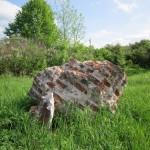 Руины фундамента