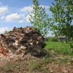 Руины фундамента монастыря