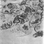 Карта монастыря XYIII века