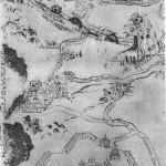 Карта монастыря 18 века
