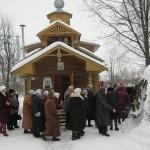 10. Престольный праздник на монастырском подворье 2013 г.