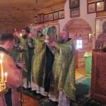 8. Престольный праздник на монастырском подворье 2013 г.
