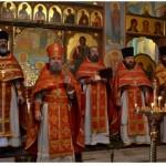 Праздничная литургия. Поздравительное слово отца Николая Коляды.