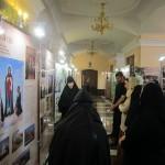 Сестры Свято-Успенского монастыря на выставке