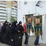 Крестный ход. Настоятельница и сестры Свято-Успенского монастыря