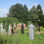 14. молебен на монастырском холме