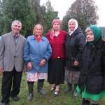 11. Местные жители участвовали в богослужении