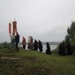 12. Крестный ход по периметру монастырской территории