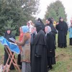 4. Настоятельница монахиня Илария, сестры и клирос Успенскогго монастыря