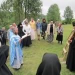 28. Крестный ход после праздничной Литургии