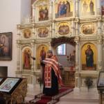 1. Божественная литургия 7 февраля, протоиерей Александр Ковалев, руководитель отдела по делам молодежи Витебской епархии