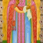 31-Священномученик Константин Жданов (икона на крышке раки)