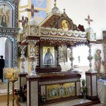 32- Рака с сенью над мощами свщмч. Константина в Воскресенском храме г. Дисна