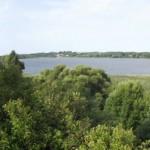 9. Панорама озера Вымно с монастырского холма