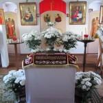 Пасхальное богослужение в монастыре.