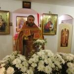 Пасхальное богослужение в монастыре. Иерей Александр Голубев.