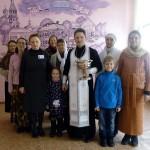Крещение Господне, 2017 г (25). Окропление крещенской водой помещений Яновичской школы.