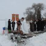 Крещение Господне, 2017 г (5). Освящение вод на Вымнянском озере.