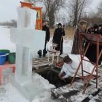 Крещение Господне, 2017 г (6). Освящение вод на Вымнянском озере.