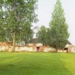 Полоцк,Струнье  фото С. Прокудина-Горского 1912 развалины резиденции