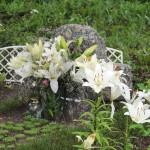 Крест на могиле игумении Аристоклии (Маевской)
