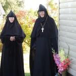 4. Успение 2019 г. Тадулинский монастырь.Водосвятны молебен. Настоятельница монахиня Илария (Болт)
