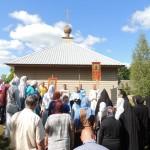 13. Успение 2019 г. Тадулинский монастырь. Крестный ход.