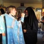 1. Успение 2019 г. Тадулинский монастырь. Праздничные богослужения начались со Всенощного бдения.